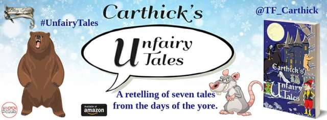 Blog Tour by The Book Club of CARTHICK'S UNFAIRY TALES by T.F. Carthick